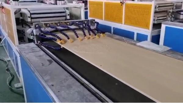 宁夏某墙板公司解决PVC发泡墙板表面泡孔问题