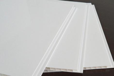 PVC白色扣板